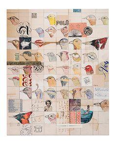 FIELD GUIDE TENNESSEE BOX PRINT - DOLAN GEIMAN   Dolan Geiman Bird Art Print   UncommonGoods