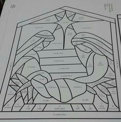 Stained Glass Quilt, Stained Glass Projects, Stained Glass Patterns, Mosaic Patterns, Quilt Patterns, Christmas Nativity Scene, Christmas Art, Christmas Angels, Holiday Canvas