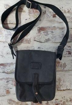 Outside:Two pockets : under flap -zipper pocket, on back- one open pocket. Crossbody Shoulder Bag, Leather Crossbody, Crossbody Bag, Side Purses, Tumi, Black Canvas, Black Cross Body Bag, Canvas Leather, St Kitts
