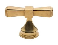 Bowtie Style T Shaped Pull  Contemporary, Traditional, Transitional, Metal, Cabinet by The Brass Center