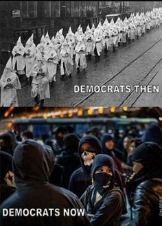 EXACTLY!! The liberal left is trying to rewrite history by leaving out that Democrats are the ones who started slavery, the KKK and all of the bullshit hate groups we see today.
