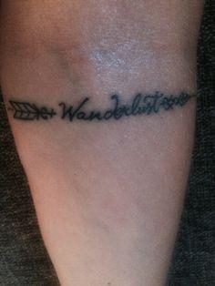 Wanderlust Inner elbow