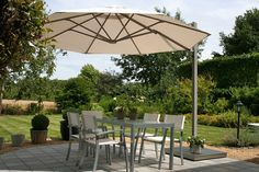Round Commercial Umbrellas | P6 Series | Shelter | Outdoor - Living