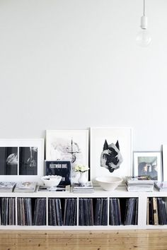 Decorate with vinyl records - 60 photos, inspiration and .- Dekorieren mit Schallplatten – 60 Fotos, Inspirationen und Ideen – Neu dekoration stile Decorate with vinyl records – 60 photos, inspiration and ideas ideas -