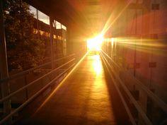 Pôr-do-sol magnífico de Porto Alegre -UNIRITTER
