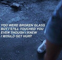quote, grunge, and broken image