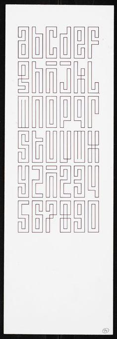Jurriaan Schrofer – Alfabet