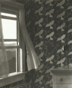 "The Third-Floor Bedroom    ""It all began when someone left the window open.""    From: The Mysteries of Harris Burdick by Chris Van Allsburg"