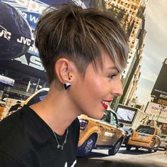 Top Short Hairstyles For Women - Page 24 of 50 - myflyinghair .com : 45 Top Short Hairstyles For Women - Page 24 of 50 - myflyinghair . Short Pixie Haircuts, Cute Hairstyles For Short Hair, Hairstyles Haircuts, Short Hair Styles, Short Hair With Undercut, Undercut Pixie, Trendy Haircuts, Modern Haircuts, Medium Hairstyles