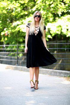 The Reformation dress / Céline heels ( Fashion / Fashionblogger / Style / Blog / LBD / Elen Kristvik