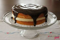 Boston Cream Pie This is a very old dessert.