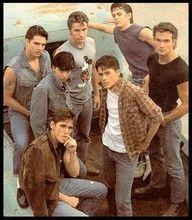 the outsiders-so many hotties <3