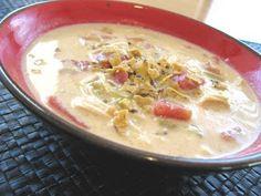 Chicken Enchilada Soup.  A family favorite! Picky Palate