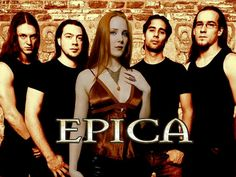 Epica is a Dutch symphonic metal band founded by guitarist and vocalist Mark Jansen subsequent to his departure from After Forever. They are known for their symphonic sound and the use of female vocals and male growls performed by Simone Simons and Mark Jansen.