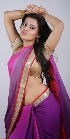 Samantha Latest Half Saree Cute Stills  ★ Desipixer  ★