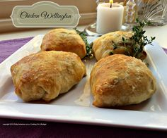 Chicken Wellingtons cost about $8.42 to make. They are delicious and your family and guests will love them.
