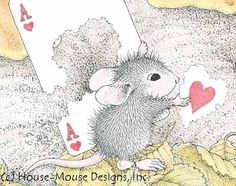 """""""Happy Valentine's Day"""" from House-Mouse Designs®. Click on the image to see it on a bunch of really """"Mice"""" products."""