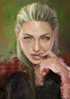Manon Blackbeak by UponADayDreamer. Heir of Fire. Queen of Shadows. Empire of Storms. Sarah J Maas