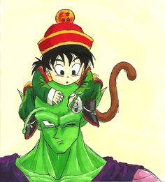 What's this, Piccolo-san? by shadesoflove.deviantart.com on @DeviantArt