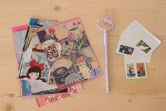 postcrossing - postcard cartes postales hand made collage nouf in wonderland http://www.noufinwonderland.com/