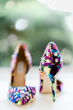 sparkly weddingshoes