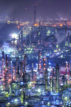 Industrial photographic art - Japan