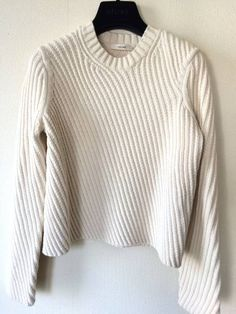 CELINE☆セリーヌ☆14SS綿ニット美品diagonal knit jumper (s) • céline5,000 円