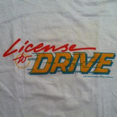 License to Drive. #feldman #haim