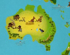 L'histoire de l'Australie pour les tout-petits Kids Around The World, Around The Worlds, Les Continents, World Crafts, Didgeridoo, Montessori Activities, English Lessons, Babysitting, Kids Learning