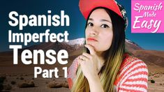 "Hello everyone, in today's lesson we will learn about another verb conjugation that is used in Spanish and that's ""El pasado Imperfecto"" or ""El pretérito imp. Spanish Verb Tenses, Verb Conjugation, Imperfect Spanish, Spanish Lessons, Im Not Perfect, I'm Not Perfect"