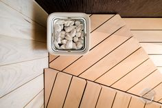 """We continue to present our sauna projects with this atmospheric one that we made to a house in Southern Finland. The customer wanted to refresh their sauna to a modern and personal direction - so we got to design the whole thing, from the benches to wall panels and lighting solutions.   The benches are made with waterfall joints, bringing the continuous grain appearance and the feeling of flowing water, supported by the lights that sort of  """"run"""" down on the walls. Finnish Sauna, Lighting Solutions, Benches, Finland, Solid Wood, Waterfall, Furniture Design, Southern, Minimalist"""