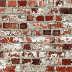 Details about Muriva Loft Brick Wallpaper Feature Wall Fireplace Rough Rustic Bricks – Hazir Site Old Brick Wall, Faux Brick Walls, Brick Effect Wallpaper, Orange Brick, Rustic Loft, Brick And Stone, Fireplace Wall, Red Bricks, Textured Walls