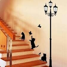 Wall murals! Is this from the Aristocats..:)