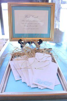Wedding wishing tree- coastal/ beachy style Wishing Tree Wedding, Wedding Reception, Coastal, Wedding Decorations, Gift Wrapping, Frame, Inspiration, Style, Marriage Reception