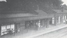 Ruddington Station c1920 RLL Nottingham Station, Old Train Station, Young Lad, Steam Railway, British Rail, Family History, Track, Victoria, Memories