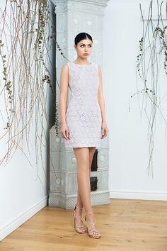 Organza lace mini dress / Rochie Lila din organza brodata / Maigre Couture Couture, Dresses, Fashion, Lean Body, Lavender, Moon, Vestidos, Moda, Fashion Styles