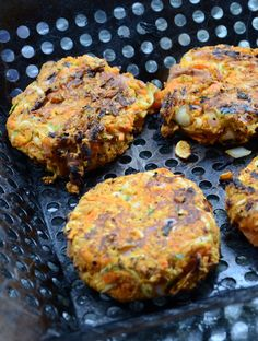 Amazing Spicy Chickpea Veggie Burgers - They actually hold together and the flavour is unreal!! Vegan and Gluten-Free