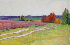 Spring, oil on board, 20 x 30 cm, (8″ x 12″), plein air oil painting #pleinairpainting
