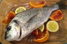 Sogno e Passione: Orata agli agrumi Fish, Meat, Pisces