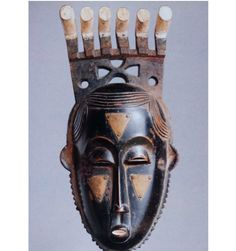 The Portrait mask or Mblo was of someone important and emphasizes the intelligence and ability of great tribal leaders.   Image Source: https://www.tes.com/lessons/T0kLGD9xYtHniw/portrait-masks-mblo-and-gba-gba-from-ivory-coast-west-africa