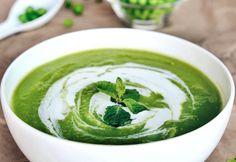 Minty Moringa Pea Soup Recipe | aduna.com