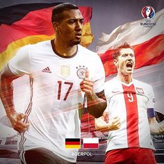 Matchday and battle of the #FCBayern boys! At 21:00 CEST today, @jeromeboateng and the rest of the Germany team take on @_rl9's Poland. #GERPOL #EURO2016