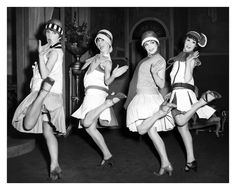 Women began to spend less time doing house work due to labor saving devices. This free time was spent doing things like this dance party.