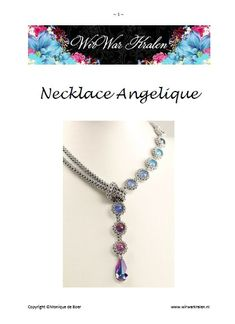 Beading+Pattern+Necklace+Angelique+PDF+English