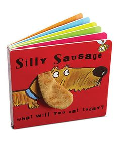 Loving this Jellycat Silly Sausage Book on #zulily! #zulilyfinds