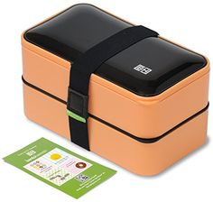 The Original Bento Box FREE Fun Lunch Notes, Cutlery, Color Options - by BentoHeaven - Leakproof Premium Reusable Food Container for Adults Adult Lunch Box, Cool Lunch Boxes, Daily Deals Sites, Lunch Box Notes, Free Fun, Chopsticks, Bento Box, Food Containers, Cutlery