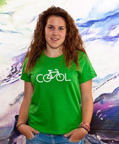Bike It's Cool TShirt Ladies Gift Sister Gift Women by store365
