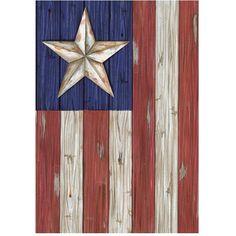 Barn board Star & Stripes.