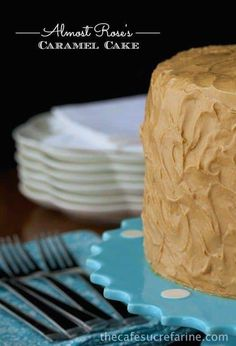 Best Caramel Cake Recipe - Rose, we love your cake! ........ but we're just a little too lazy to do the icing your way, so here goes - The Café's version.