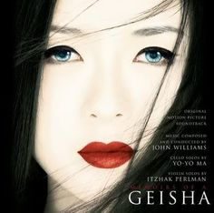 Memiors Of A Geisha.  Loved the book, the movie...not as much. WHAT YO YO MA PERFORMED THE CELLO SOLOS?!?!♥